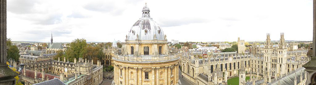Oxford Panorama. Image under Creative Commons licence http://en.wikipedia.org/wiki/File:Panorama_St_Mary_the_Virgin_tower.jpg